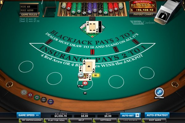 Play Progressive Blackjack Multihand 5 Online at Casino.com India