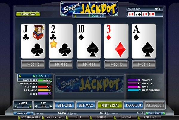 Play MegaJacks Progressive Videopoker Online at Casino.com NZ
