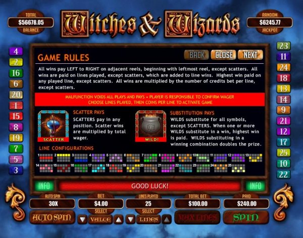 online casino list wizards win