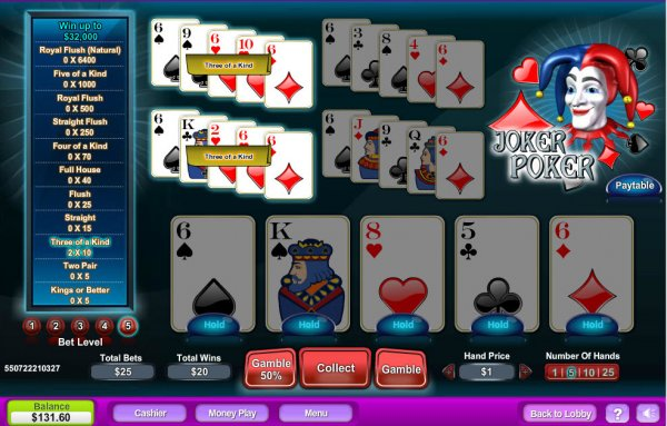 safe online casino poker joker
