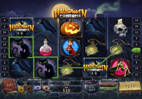 juegos de casino gratis halloween fortune