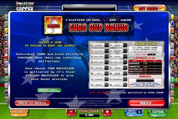 Sensible Soccer Euro Cup Slot Machine Online ᐈ Ash Gaming™ Casino Slots