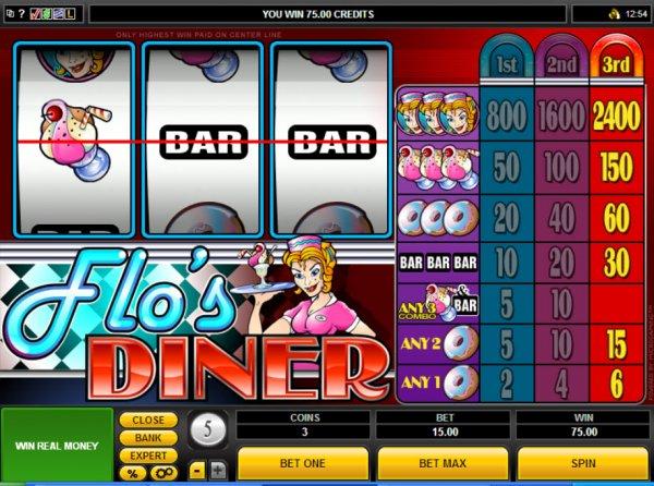 Flos diner casino chinese men and gambling