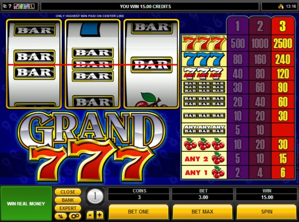 grand star slot machine