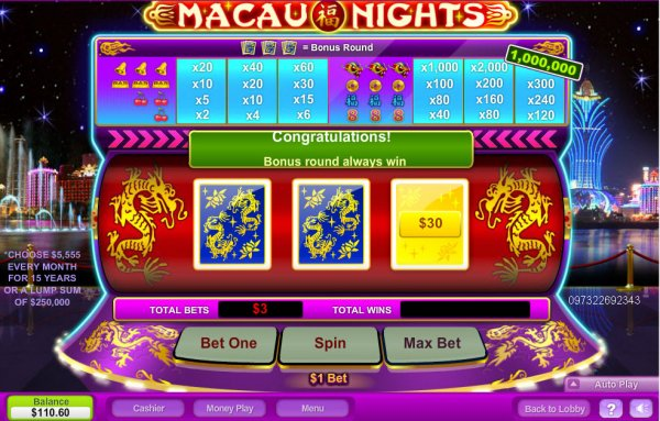 Monte Carlo Slot - Play the Neogames Casino Game for Free