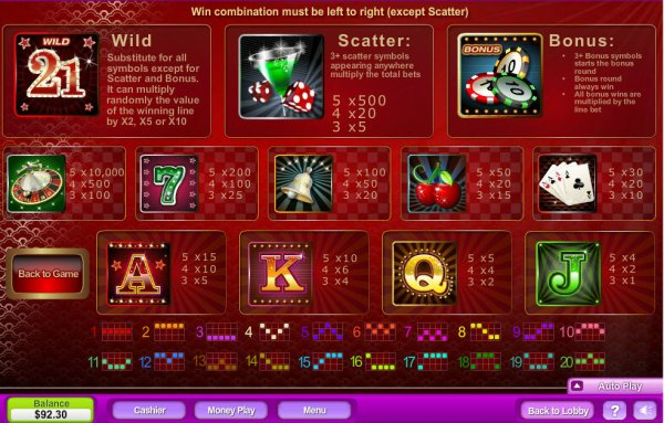 Monaco Glamour Slot - Play the Neogames Casino Game for Free