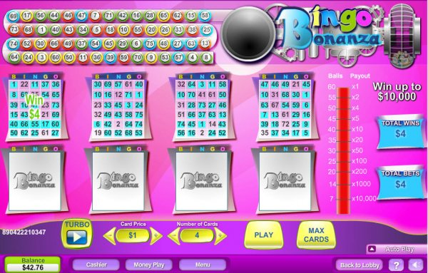 Bingo Bonanza!™ Slot Machine Game to Play Free in Microgamings Online Casinos