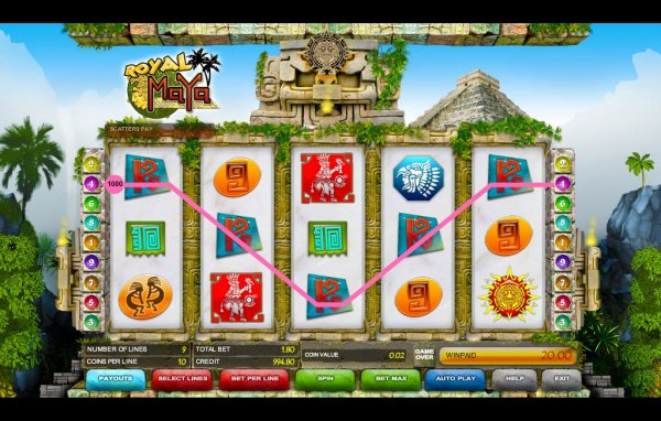 casino online games maya symbole