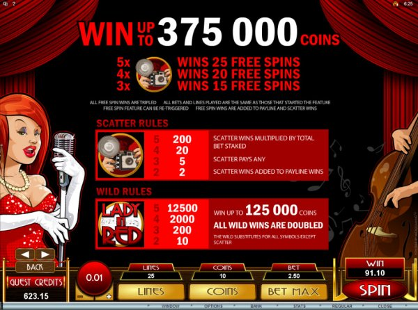 online free casino lacky lady