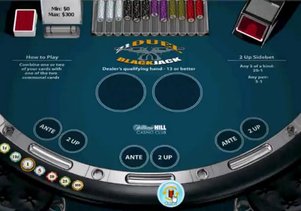 Play 21 Duel Blackjack Online at Casino.com Australia