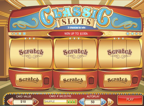 Play Classic Slots Scratch at Casino.com UK