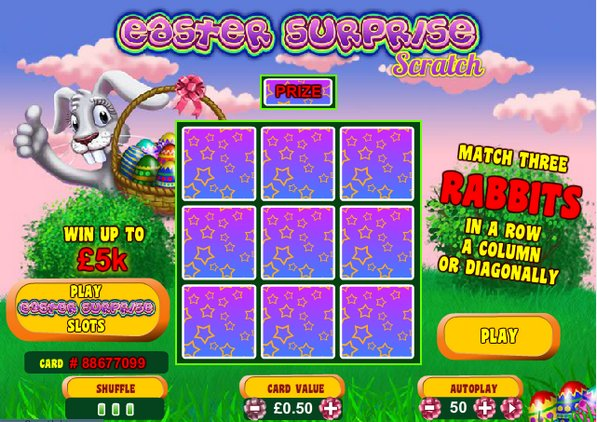 Play Easter Surprise Scratch Online at Casino.com South Africa
