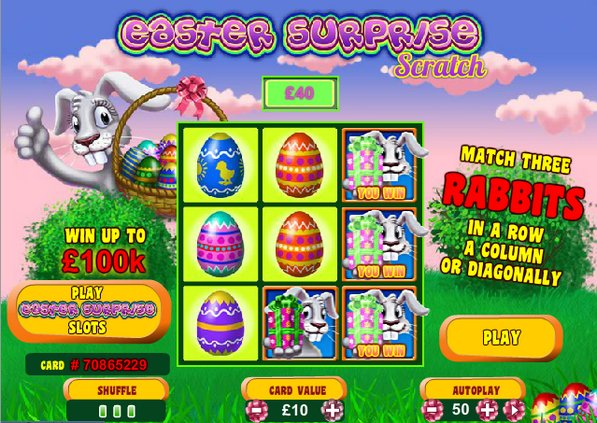 Play Easter Surprise Scratch Online at Casino.com Australia