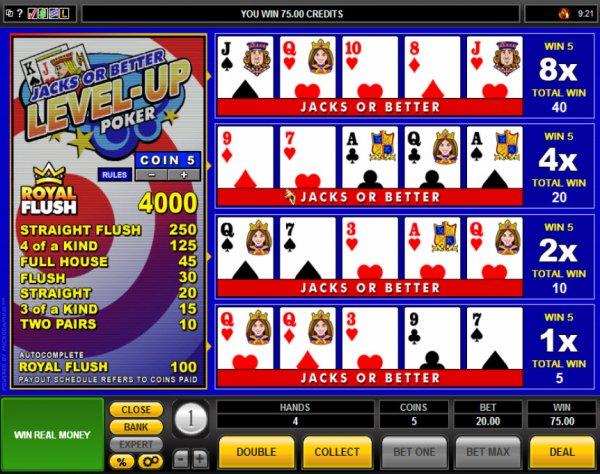 Play Jacks or Better Video Poker at Casino.com UK