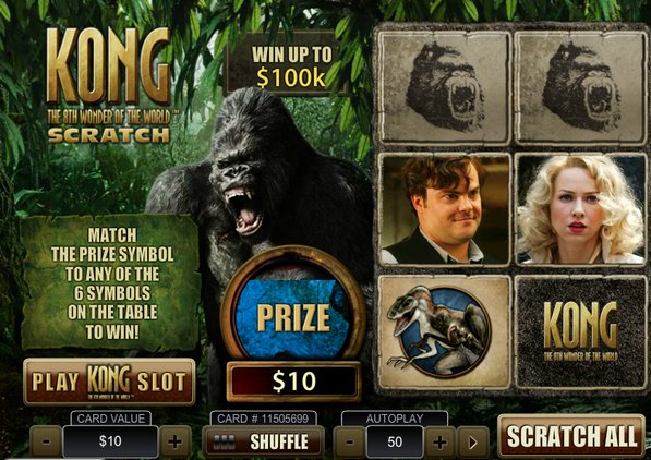 Play Kong The Eighth Wonder of the World Online Slots at Casino.com UK