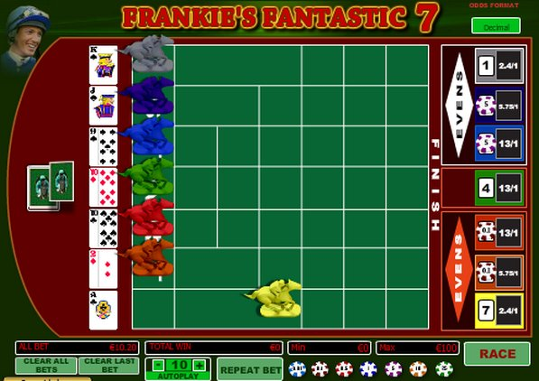 Play Frankie's Fantastic 7 Arcade Game at Casino.com UK