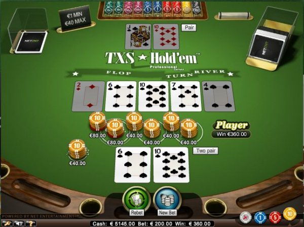 ultimate texas holdem online casino
