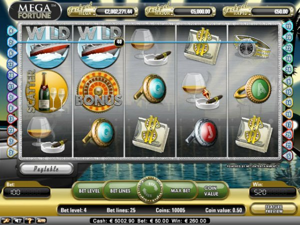 online casino city mega fortune