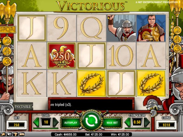Victorious™ Slot Machine Game to Play Free in NetEnts Online Casinos