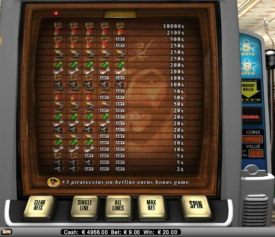 online casino table games extra gold