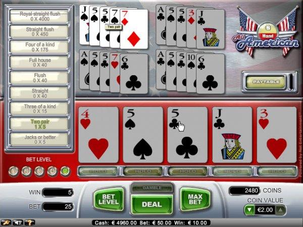 american poker 2 rules