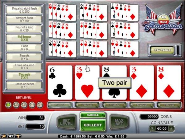 canadian online casino american poker 2 online