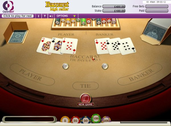Player's World High Limits - High Rollers Aristocrat Games