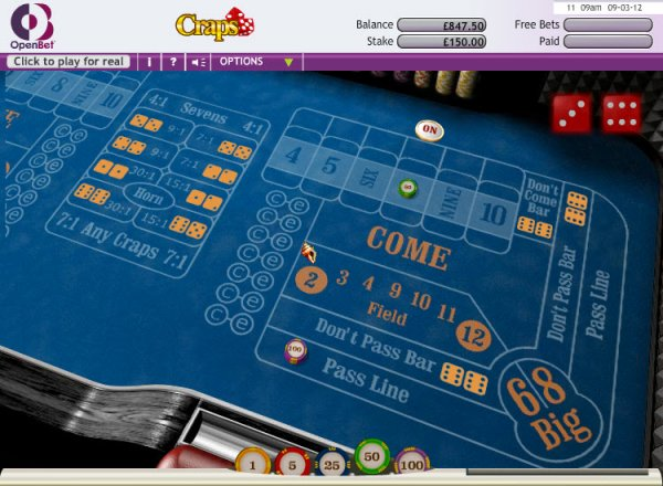 Super Luxury Edition Craps