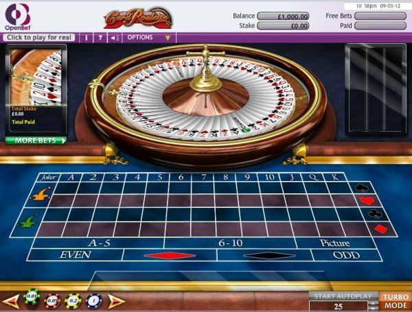 Roulette casino california william bennett and gambling