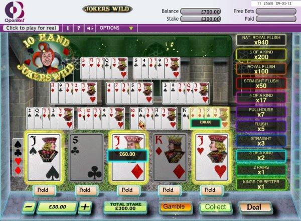 online casino ratings jokers online