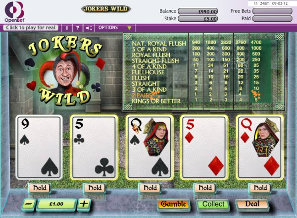 online casino ratings jokers online