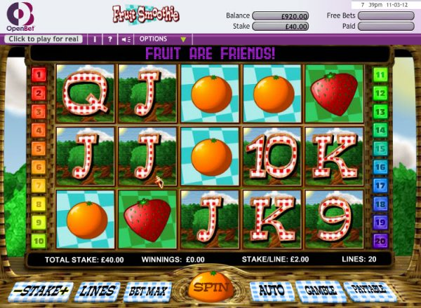 online casino fruit slot