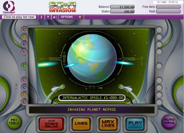 Sci-Fi Invasion Slot - Try this Online Game for Free Now
