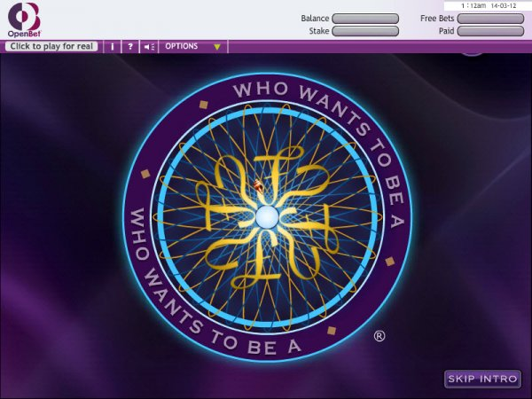who wants to be a millionaire tv show online