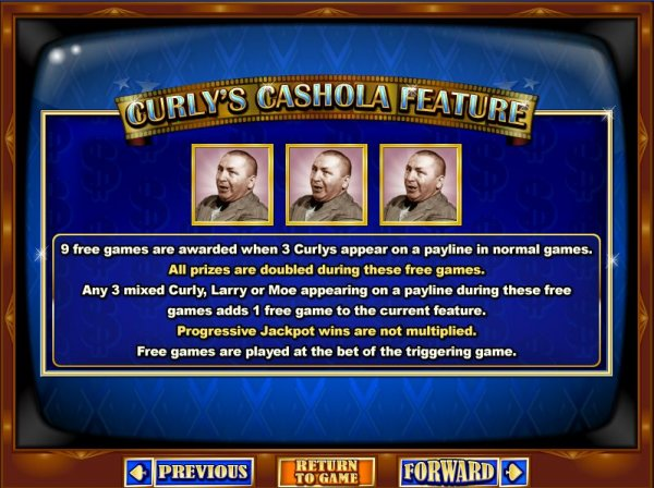 Curly's Cashola Feature