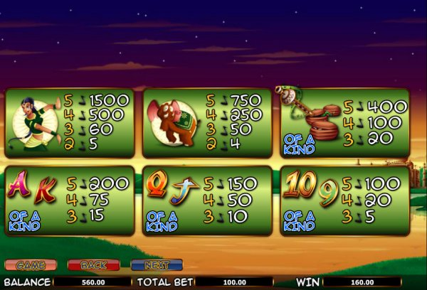 The Snake Charmer™ Slot Machine Game to Play Free in NextGen Gamings Online Casinos