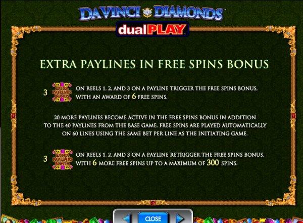 da vinci diamonds dual play casino