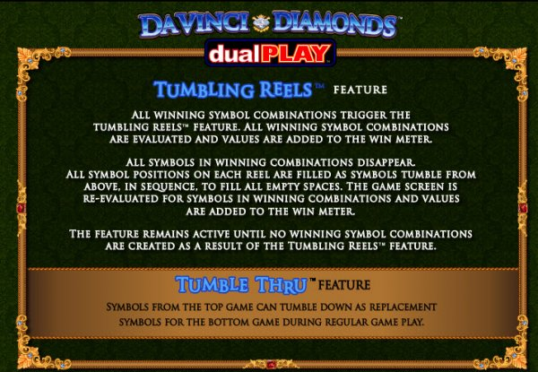 da vinci diamonds slots review