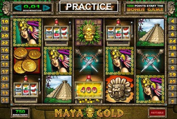 free casino games online slots with bonus maya symbole