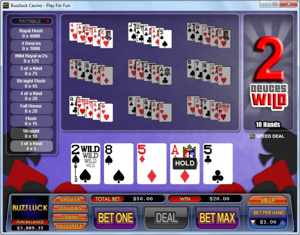 online betting casino poker 4 of a kind