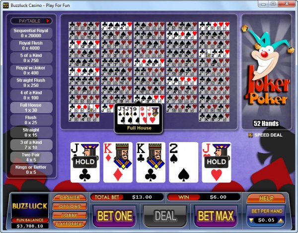 Jokers casino poker schedule