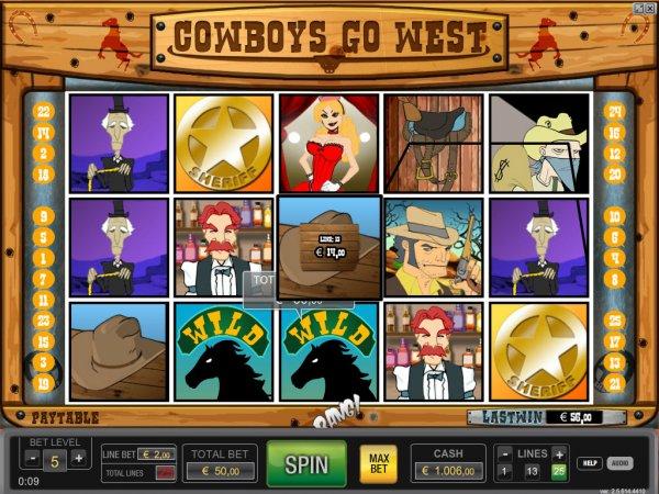 Cowboys go west hd world match casino slots run machine