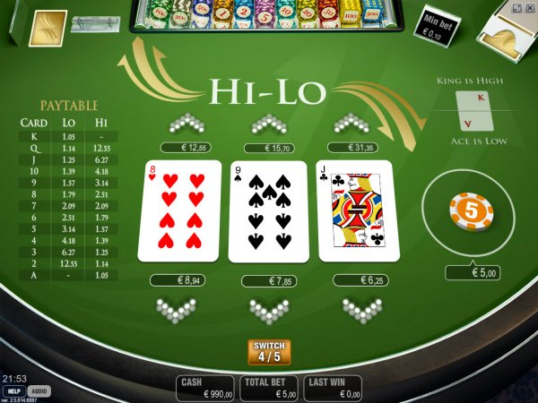 Poker hi low jolly roger slot machine game