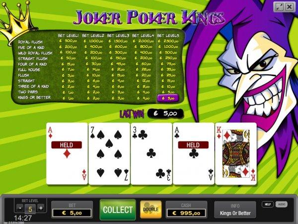 Joker покер онлайн голден интерстар обновление
