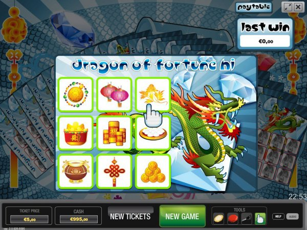 Eastern Dragon Scratch Cards - Review and Free Online Game