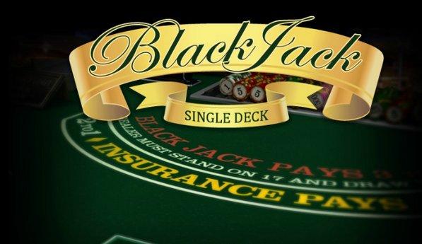 Casinos with single deck blackjack horse shoe casino las vegas