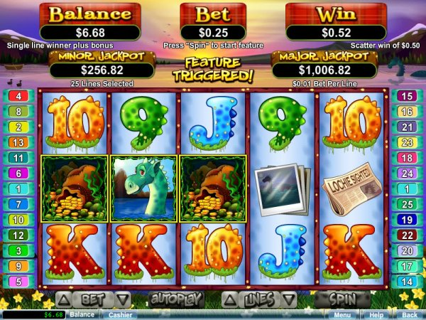 Loch Ness Loot™ Slot Machine Game to Play Free in Realtime Gamings Online Casinos