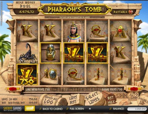 Pharaohs Tomb - Rizk Online Casino