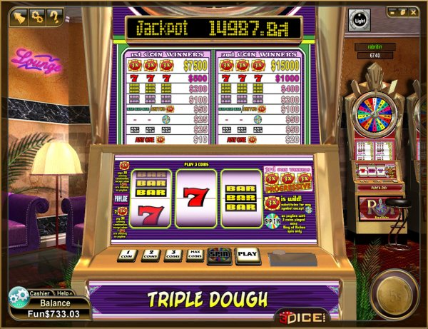 Triple Dough Игровой Автомат вот