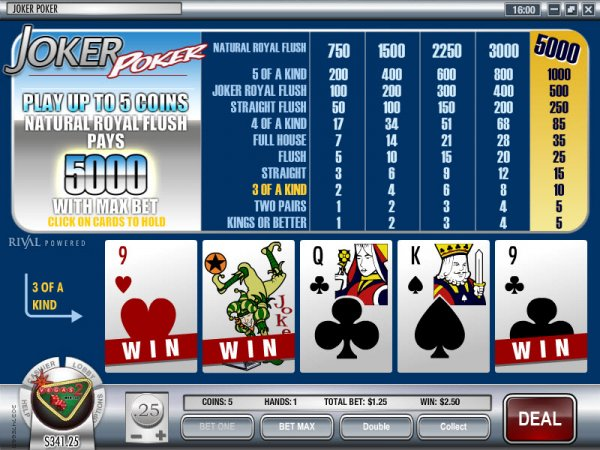 online casino test joker poker